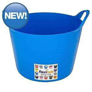 Strata Flexi Tub Blue - 14L - blue, pink or black - £2 @ Asda