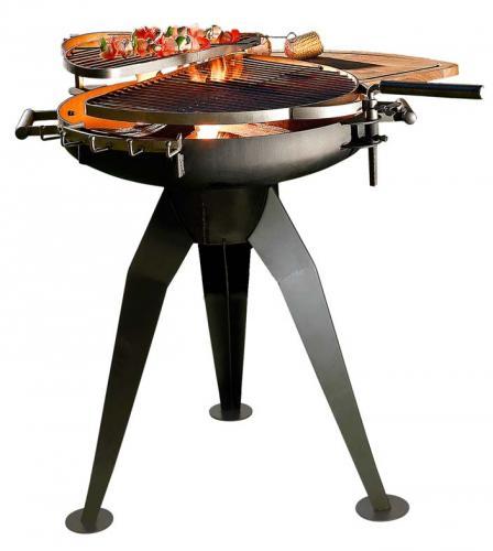 La Hacienda Cordoba Twin Firepit And Outdoor Grill £99.99 @ Charles Direct