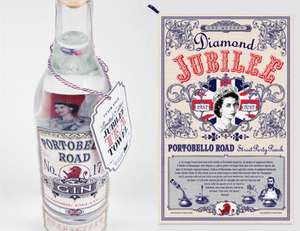 free tea towel with bottle of portobello road gin £39.50 @ Harvey Nichols