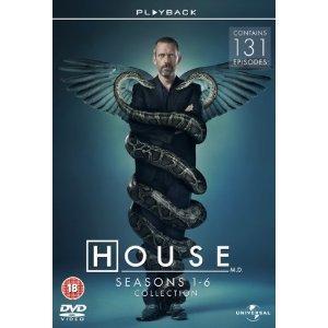 House - Season 1-6 [DVD] 131 episodes for only £32.97 @ Amazon