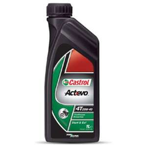 Castrol Motorcycle Oil Actevo4T (1L) £4 @ Asda Direct