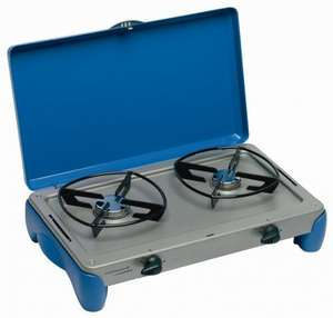 Campingaz 2 Burner Stove Camping Kitchen back in stock @ tesco £8.50