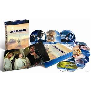 Star Wars: The Complete Saga (9 Discs) (Blu-ray Boxset) £42.49 delivered with code @ Tesco Entertainment