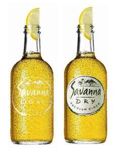 Savanna Dry Cider 500ml (Morrisons) £1