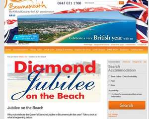 Jubilee on the Beach @ Bournemouth
