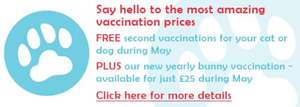 "Cheap! vetinary pet services via ""easicare"" @  6 main locations currently (+ additional vaccination centres)"