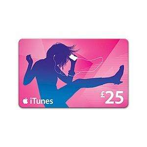 £5 off £25 iTunes voucher instore at Co-Op