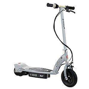 Razor E100 Electric Scooter - Silver £132 (cheaper than the pink) click and collect from Asda