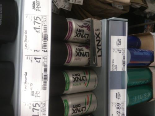 Lynx Dry  Asda Instore £1 @ Goole