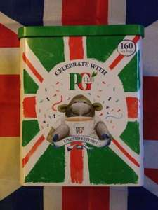Pg Tips Jubilee tin caddy contains 160 tea bags - £4 @ Sainsburys