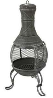 Mini Cast Iron Chiminea Chimnea £27.99 Argos