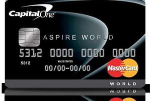 5% cashback for first 3 months up to £100 with Capital One Aspire credit card