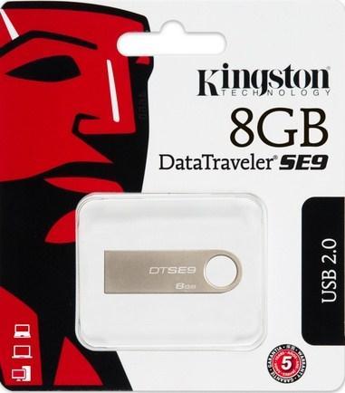 Kingston 8GB USB Pen Drive DataTraveler SE9 £3.98 Ebay free del @ Ebay / box