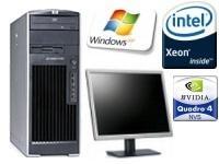 HP Workstation xw6200 - MT - Intel Xeon 3.60GHz Dual Processor + monitor (refurb) £129 @  tier1online