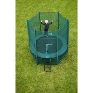 8 foot trampoline and enclosure, £63.99 instore @ Smyths