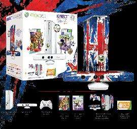 XBox 360 White 4gb slim Console + Kinect Sensor Celebration Pack + Kinect Sports + 3 Months XBox Live Sub + £10 Voucher  (Also add GRAW Future Soldier Signature Edition for £25 instore) £199.99 at GAME & Gamestation