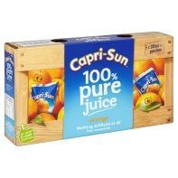 Caprisun, box of 5, orange or blackcurrant 62p at asda!!