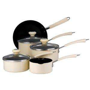 5 Piece Prestige Non-stick Saucepan Set (Cream) £32.50 @ Amazon