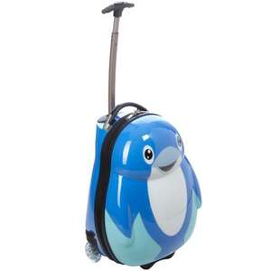 Cuties Dolphin and penguin Suitcases £25 , Backpacks £10 - IN STORE Morrisons