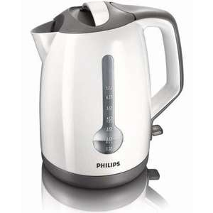 Philips HD4644/00 White Energy Efficient Kettle, 3000 Watt, 1.7 Litre £21.59 @ Amazon