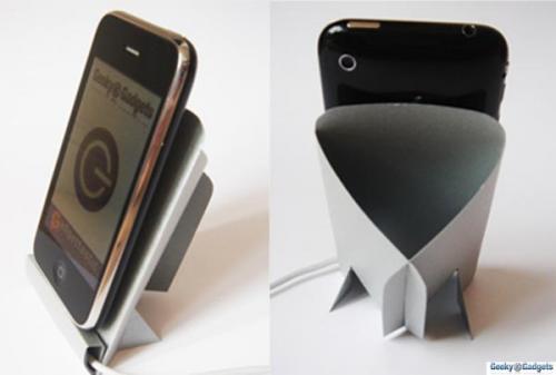DIY Print & Fold iPhone & iPod Touch Dock (Printable PDF Template)