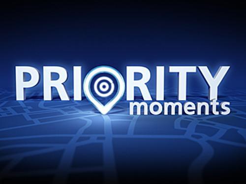 O2 priority moments FREE tea or coffee