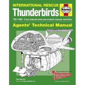 "Fathers day pressie sorted? Thunderbirds ""are GO!!"" Manual (Agents' Technical Manual)  on Amazon £7.99"