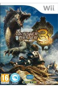Monster Hunter Tri (Preowned) - Wii - £11.99 - Grainger Games