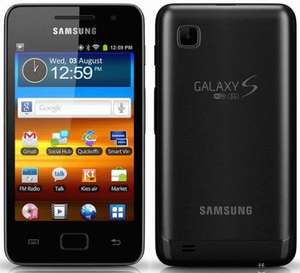 SAMSUNG Galaxy S 3.6 8GB MP3 Player with FM radio - Black - Only £99.99 Delivered at Currys