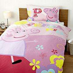 Peppa Pig Adorable Duvet Set £6 @ Sainsburys - in store only