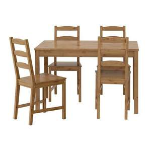 Dining table and 4 chairs £49.90 instore @ Ikea Milton Keynes