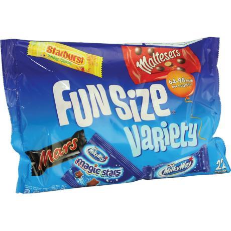 Mars Funsize - Variety (353g) £1.00 each @ Heron Foods
