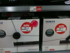 Humax PVR-9300T/500 Freeview+ Recorder 500GB HDD - £90 @ Asda Instore