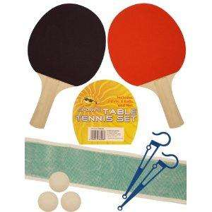 Sports Table Tennis Set with Bats, Balls and Net (fits onto dining table) £3.94 del @ Amazon (sold by online store)