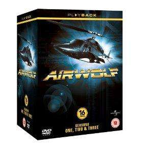 Airwolf Complete Series 1 - 3 16 dvd box set now £15.97 del @ Amazon