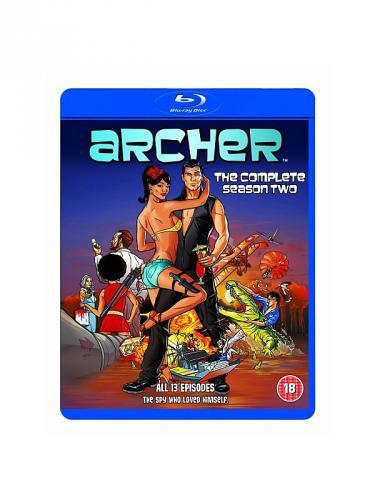 Archer Complete Series/Season 2 Bluray Boxset - £14.97 @ Asda Direct