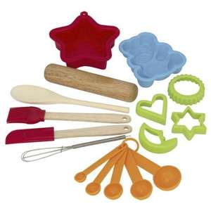 Kidchen Children's Baking Set - 12 Piece Set now £3.50 del to store @ Asda