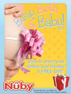 Free baby gift if you fill in your details on Nuby's Facebook page