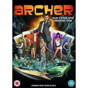 Archer: Season 1 DVD - £5.97 @ Amazon UK