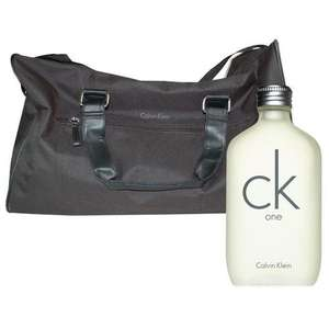 Ck One Edt 200ml Spray with FREE Calvin Klein Duffle Bag for £25.44 @ The Fragrance Shop