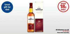 18 yr old single malt £19.99 (should be around £35-40) 12 yr Old is £16.99 @ Aldi