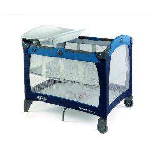 Graco Contour On The Go Travel Cot (Butterfly Blue) rrp £91 now £10 del @ Amazon