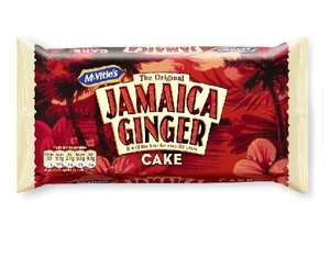 FREE McVities Jamaican Ginger Cake, Hobnob Flapjacks or Jaffa Cake Bars