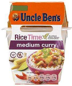 Uncle Ben's Rice Time Pot's Only £1 @ Asda (instore & online)