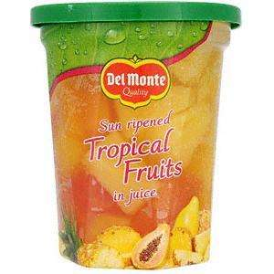 CASE PRICE Del Monte Tropical Fruits In Juice 6 x 410g @ APPROVED FOOD