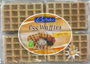 Toaster waffles 12 for 55 pence at Lidl