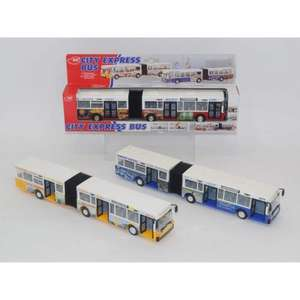40cm Die-Cast City Express Bendy Bus for £6.00 ( or 2 for £8 ) del to store @ Asda