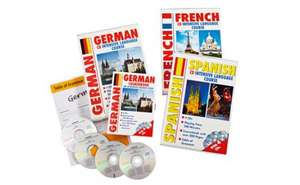 Intensive French, German, Spanish course kits, £4.99 each at Lidl