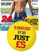Try Men's Fitness with 5 issues for £5