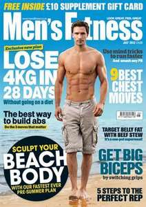 5 Issues Mens Fitness Magazine & Free Gift only £5.00